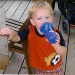 Wordless Wednesday – I Love His Blue Eyes (Hal 6 years ago)