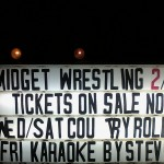 Wordless Wednesday – Midget Wrestling Anyone?