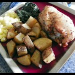 rosemary roasted chicken