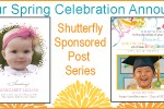 Spring Celebration Announcements with Shutterfly {Giveaway}