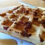 Maple-Bacon Buttermilk Waffles – Recipe