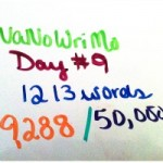 nanowrimo day 9 featured