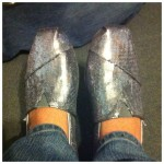 My new favorite shoes TOMS Sequins!
