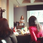 Listening to Megan Calhoun speak at Conversations with Coca-Cola