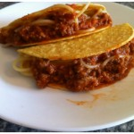 Spaghetti Tacos are actually really good